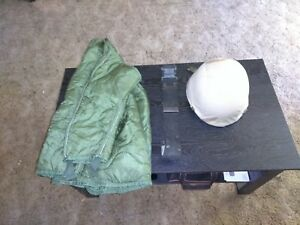 pasgt made with Kevlar US Military helmet m65 field jacket liner belt military