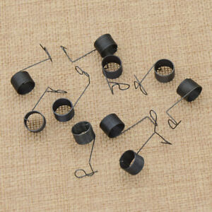 Black Thread Tension Clamp Spring Old Sewing Machine Spare Part 10 Pcs $1.98