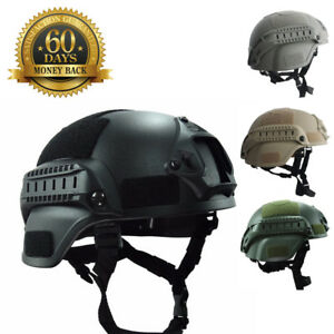 Airsoft Tactical Paintball Helmet Lancer Night Vision Sport Camera Mount Gear