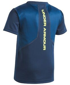 2 PC Boy youth toddler Under Armour Athletic shirt top & shorts set sz 4T