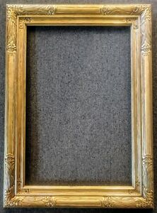 Fabulous Carved Newcomb Macklin Period Frame in Gold Leaf 24