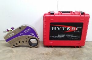 NEW HYTORC STEALTH-22 POWER DRIVE HYDRAULIC TORQUE WRENCH W CASSETTE LINK # 3