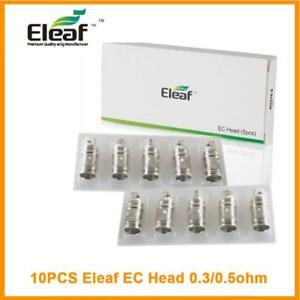 10x Eleaf EC Coil Head 0.3ohm0.5ohm for iJust 2MeloMelo 2Melo 3(mini)Lemo3