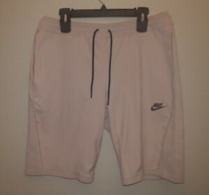 Nike Sportswear Tech Knit Shorts Particle Rose Mens Size Large 886179 684 L New
