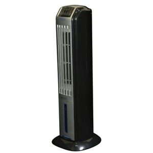 Portable Swamp Cooler Evaporative Air Cooler Tower Humidifier Fan Remote Control