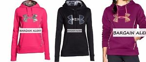UNDER ARMOUR 3 HOODIE SWEATSHIRTS ~ XL ~ BNWT ~ REALTREE PINK MAGENTA