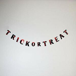 Trick-Or-Treat Bloody Halloween Paper Garland Banner (5FT)