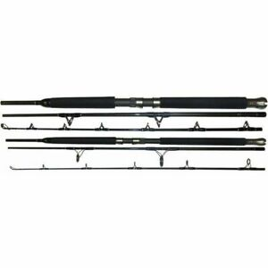 Tsunami Trophy 1pc CONVENTIONAL Jigging Saltwater Boat Rod 6'6