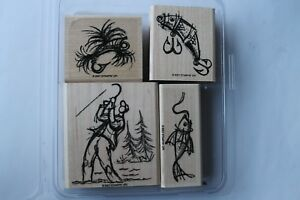 Stampin Up On the Fly set of 4