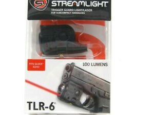 Streamlight Tactical TLR-6 LED Flashlight Weapon Light w Laser For Glock 4243