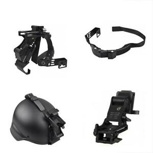 Night Vision Goggle Mount Holding Strap For ACH PASGT MICHM88 Helmets SET(Black