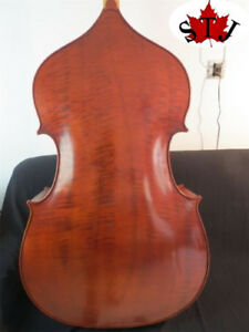 Solid wood professional Song master upright double bass 34 hand made #10760