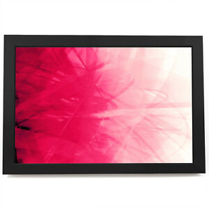 AB127 Pink Swirl Living Room Modern Abstract Framed Wall Art Picture Prints