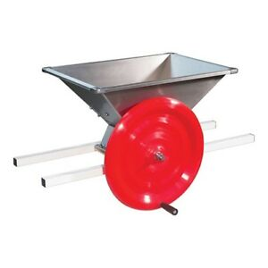 Manual Fruit Crusher - Made for Apples & Pears, works for Grapes, Berries, Wine