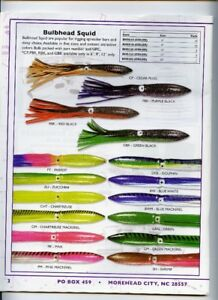 9 inch shell bulb squid pack of 10 choose your packs for lure making