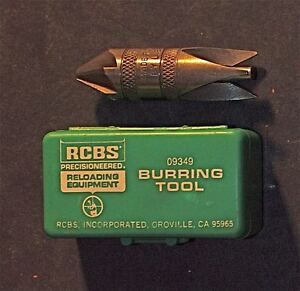 RCBS Deburring Tool-(17-45 Cal)-(09349)-Patina NOS (In Green Box)