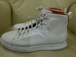 Under Armour Men's Classic Leather Sneaker WhiteGum 10.5 Dead Stock 1310041 100