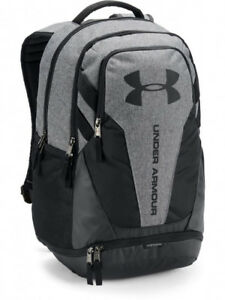 Under Armour 100%Authentic Storm Hustle 3.0 Backpack Black School Laptop Men Bag