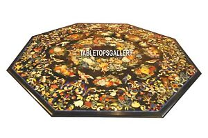 Custom Marble Living Room Furniture Design Inlay Table Top Real Art H3810