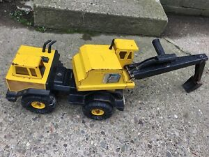 Vintage Tonka Mighty Shovel  PRESSED STEEL CONSTRUCTION EARTH MOVER LOADER TRUCK