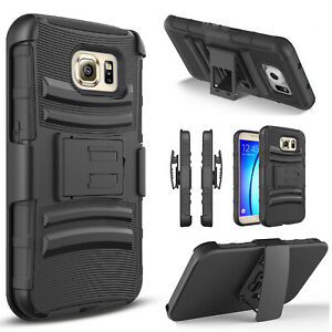 For Samsung Galaxy S7S7 ActiveS7 Edge Case Heavy Duty Belt Clip Cover+Stylus