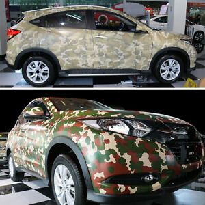 Car Styling Digital Woodland Camouflage Vinyl Film Motorcycle Car Wrapping 2018