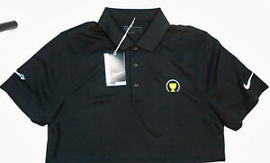 Nike Golf Dri Fit Victory Men's Polo Shirt 725518 010 sz medium Presidents Cup