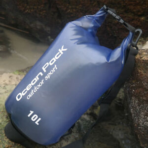 2L5L10L15L20L Waterproof Dry Bag Sack Rucksacks Canoe Kayak Camping Boating