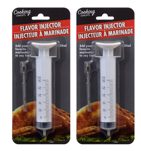 2x ($4.99) Flavor Injector Marinade Syringe Cooking Meat Poultry Turkey Chicken