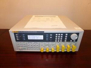 Fluke 284 4 Channel 40 MSs Universal Arbitrary Waveform Generator - CALIBRATED