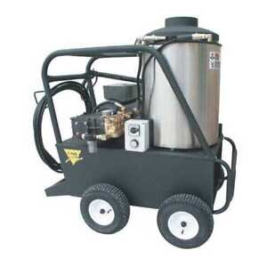 Heavy Duty 4000 psi 4.0 gpm Hot Water Electric Pressure Washer CAM SPRAY 4000QE