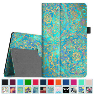 For New Amazon Fire HD 8 inch 8th Gen 2018 Tablet Folio Case Cover Stand Leather