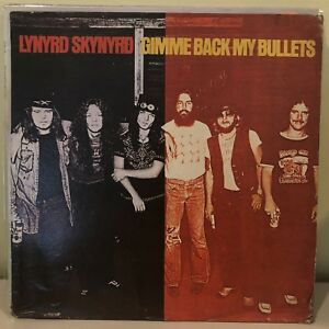 Lynyrd Skynyrd  Give Me Back My Bullets rare Philippine Press. 12-inch Record