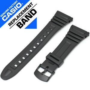Casio 10076822 Genuine Factory Resin Band, Fits W-96H-1AV and others - NEW