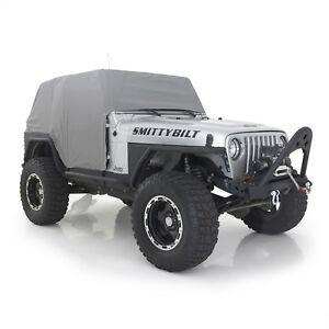 Smittybilt Spice Cab Cover with Door Flaps for 92-06 Jeep Wrangler YJ/TJ 1067
