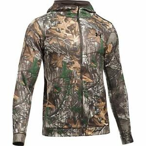Under Armour Men's Stealth Reaper Early Season Hunting Zipper Hoodie