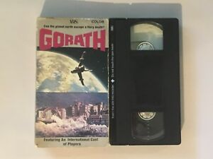 Gorath VHS - Can The Planet Earth Escape A Fiery Death Video Tape