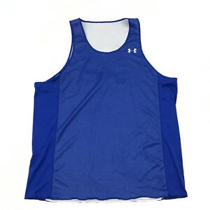 UA Under Armour Basketball Tank Top REVERSIBLE Loose Baggy Fit Men's Size XL 1X