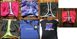 GIRLS NIKE ~ SIZE MEDIUM ~ NIKE TEMPO RUNNING SHORTS ~ T-SHIRTS ~ 7pc ~ NEW $188
