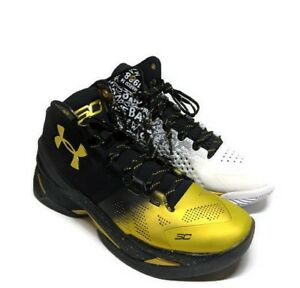 Under Armour Steph Curry Back 2 Back MVP Pack #1300015-001 Sz 9 (NEW w Box)