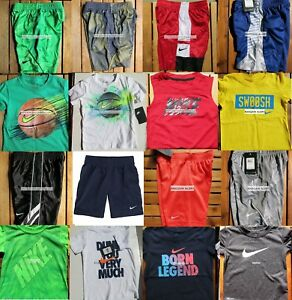 NIKE BOYS SIZE 4T ~ SHORTS ~ $347 ~ T-SHIRTS ~ DRI-FIT ~ SUMMER 16 PIECES ~ NEW