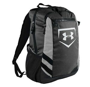 Under Armour Hustle Storm Adult Batpack Bat Bag Backpack Black UASB-HBP NEW!