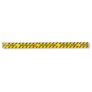 Under Construction Party Warning Tape Birthday Zone Party Supplies