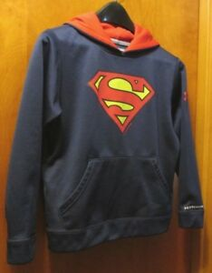 Under Armour Boy's Superman SMALL 7-8 ColdGear Loose