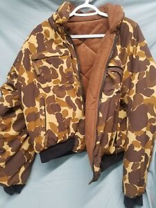 HERTERS Camo Hunting Coat Mens S M < FA3 1400