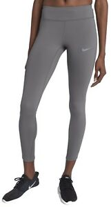 Nike Power Epic Lux Women's Running Shorts; Grey (Small)