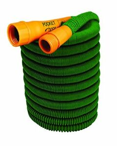 Pocket Hose Bullet 25-Ft Expandable Garden Hose by BulbHead No Hose Reel Needed
