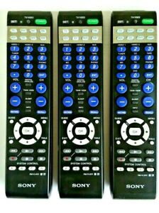3 units Original SONY RM-VL600 Multi-Function Learning Universal Remote Control