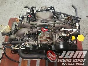 02 05 SUBARU FORESTER 2.0L SOHC 4CYL REPLACEMENT EJ253 ENGINE JDM EJ203