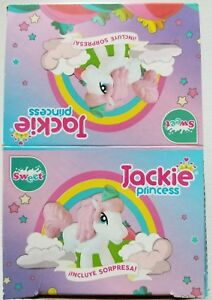 NEW Jackie Princess Chocolate Egg Toy Surprise 6 Count Free World Shipping